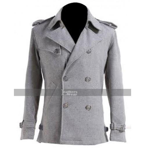 Edward Cullen Twilight Grey Wool Jacket
