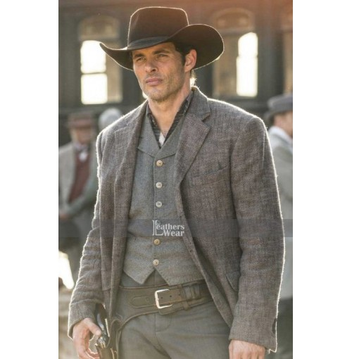 James Marsden Westworld Teddy Flood Jacket