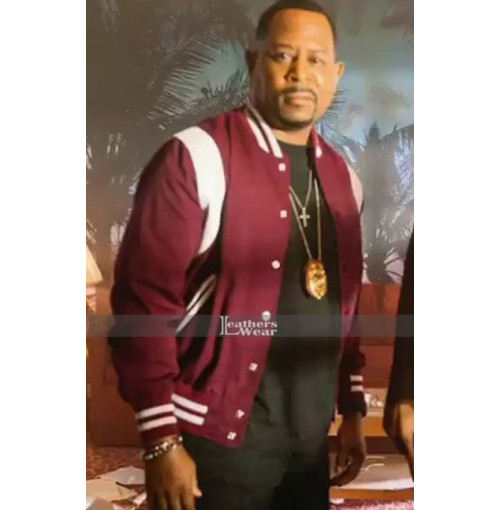 Bad Boys for Life Martin Lawrence Maroon Jacket