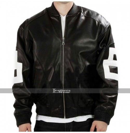 8-Ball Bomber Supreme Leather Jacket