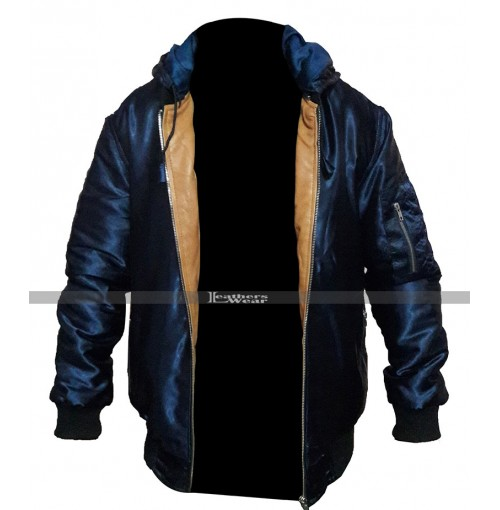 Daddys Home 2 Mark Wahlberg Dusty Bomber Varsity Jacket