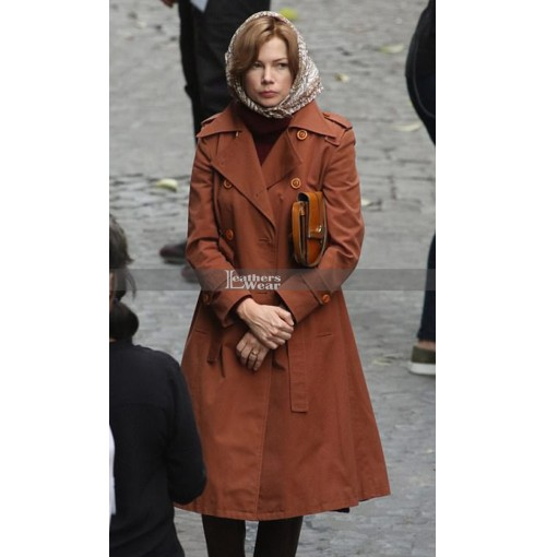 All The Money In The World Michelle Williams (Gail Harris) Coat