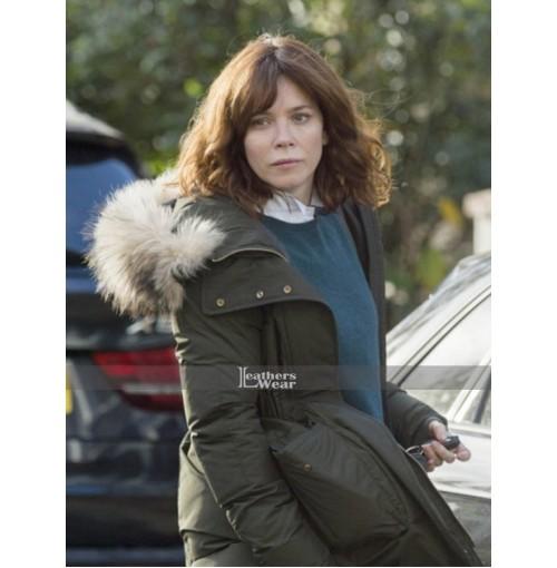 Anna Friel TV Series Marcella Coat