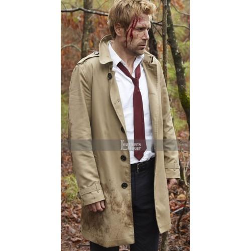 Arrow S4 Matt Ryan (John Constantine) Trench Coat