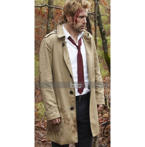 Arrow S4 Matt Ryan (John Constantine) Trench Coat