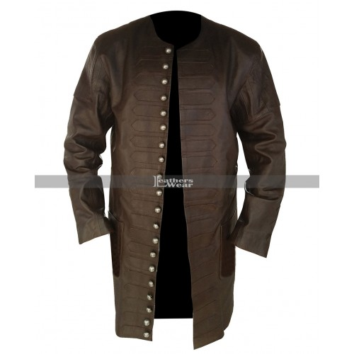 Black Sails John Silver (Luke Arnold) Long Coat