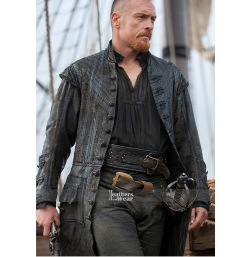 Black Sails S3 Toby Stephens (Captain Flint) Coat