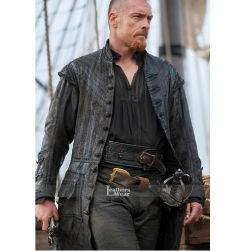 Black Sails S3 Toby Stephens (Captain Flint) Coat
