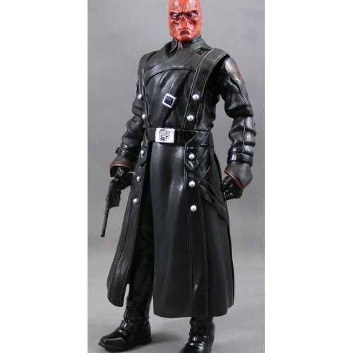 Captain America Avenger Red Skull Coat
