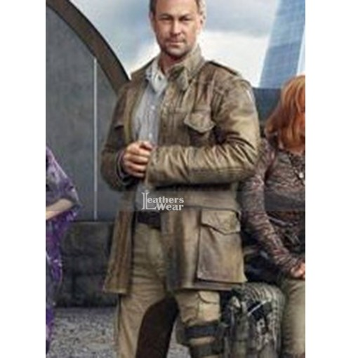 Defiance Grant Bowler (Nolan) Trench Leather Coat