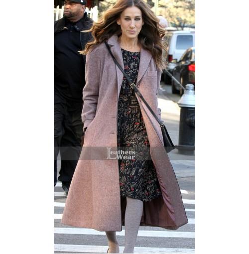 Divorce Sarah Jessica Parker (Frances) Long Coat