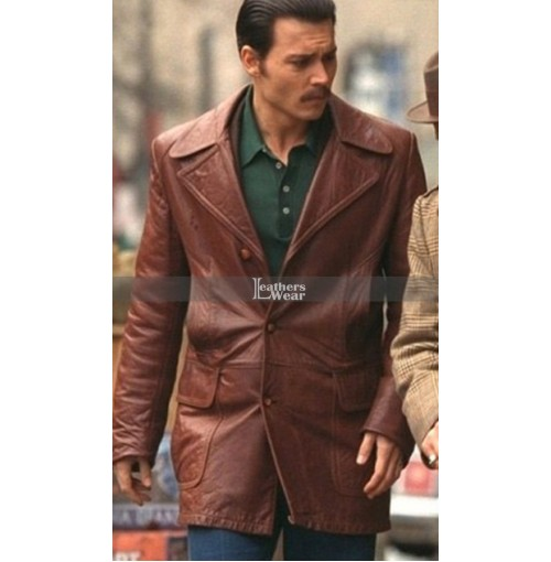 Donnie Brasco Johnny Depp Vintage (Joe) Coat