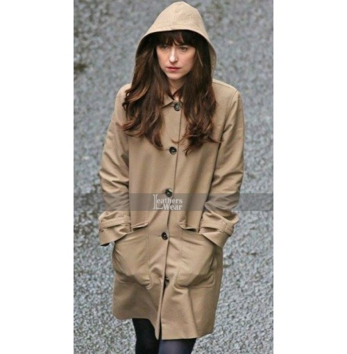 Fifty Shades Darker Dakota Johnson (Anastasia Steele) Coat