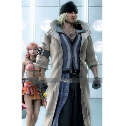 Final Fantasy Xiii Snow Villiers Cosplay Coat Costume
