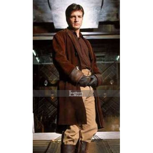 Firefly Nathan Fillion (Malcolm Reynolds) Coat