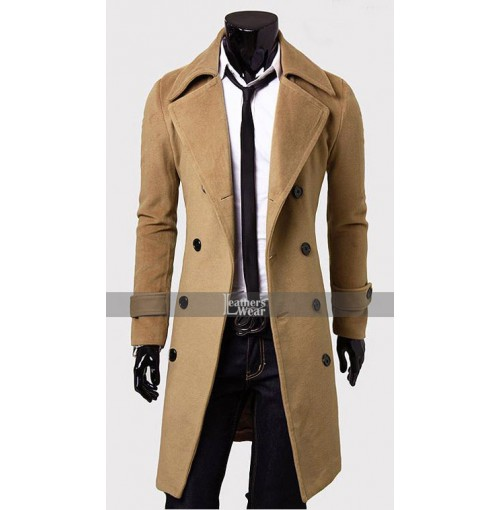Froth Wool Peacock Brown Coat
