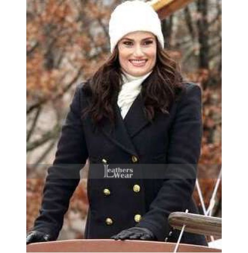 Frozen 2 Idina Menzel Wool Coat