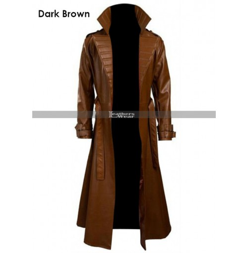 Gambit Channing Tatum Trench Leather Coat