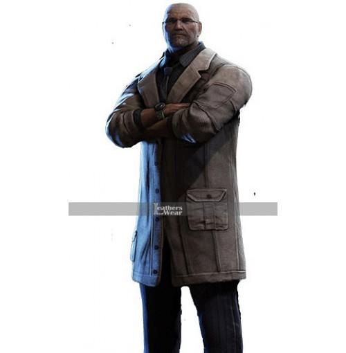 Gears of War 4 Adam Jonathon Fenix Trench Coat Costume