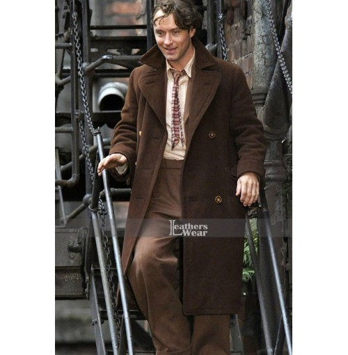 Genius 2015 Movie Guy Pearce Trench Coat