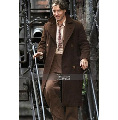 Genius 2015 Movie Guy Pearce Trench Coat