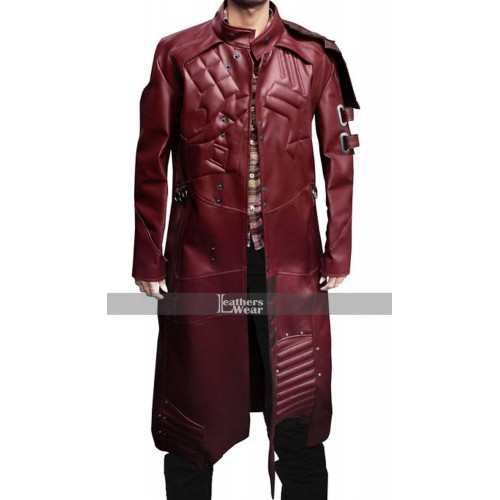 Guardians of the Galaxy Star Lord Trench Coat