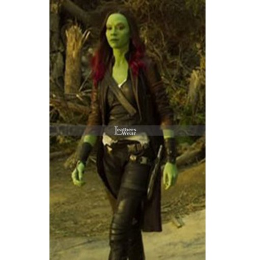 Guardians of the Galaxy vol 2 Zoe Saldana (Gamora) Coat