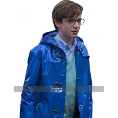 A Series of Unfortunate Klaus Baudelaire Blue Coat