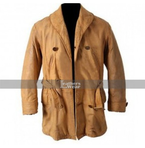 Legends Of the Fall Brad Pitt Brown Leather Coat