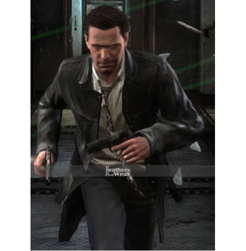 Max Payne 3 Rockstar Leather Coat