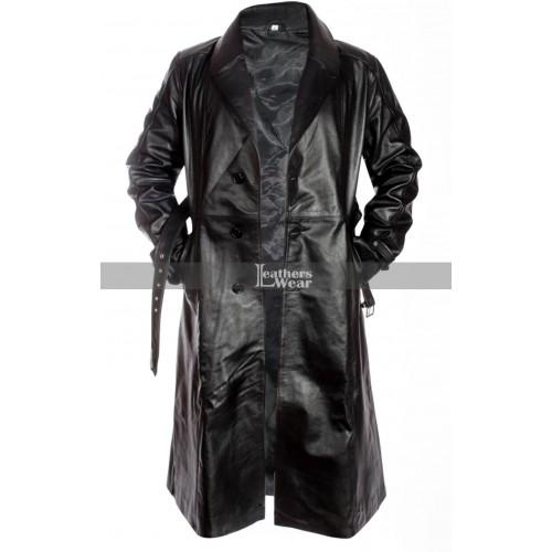 Mickey Rourke Sin City (Marv) Leather Coat