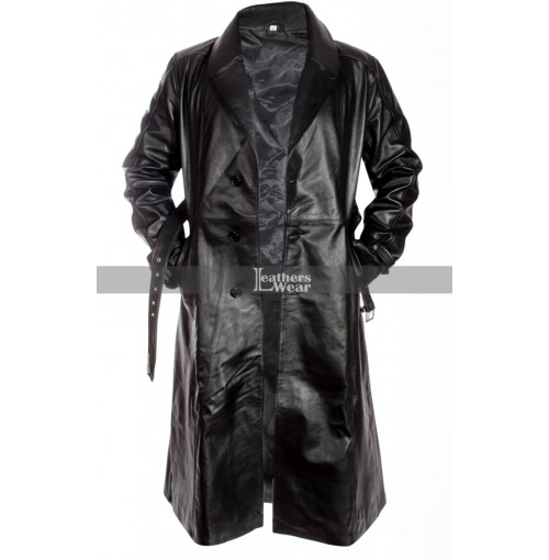 Mickey Rourke Sin City (Marv) Leather Coat