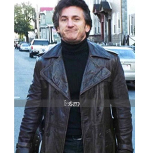 Mystic River Sean Penn (Jimmy Markum) Trench Coat