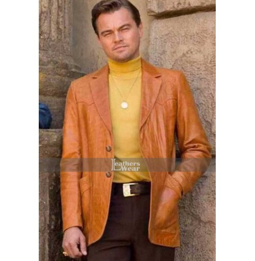 Rick Dalton Once Upon A Time In Hollywood Brown Jacket