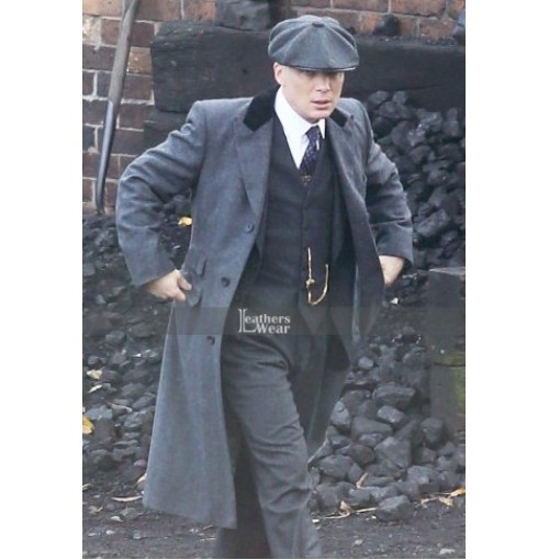 Peaky Blinders Cillian Murphy Black Long Coat