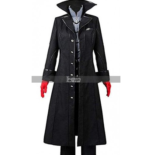Persona 5 Joker Protagonist Outfit Cosplay Costume Coat