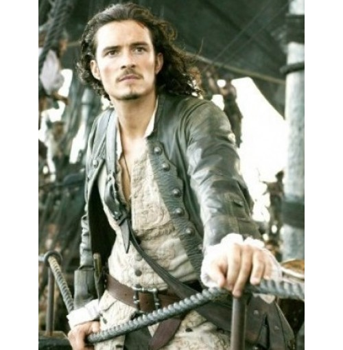 Pirates Of The Caribbean 5 Orlando Bloom (Will Turner) Coat