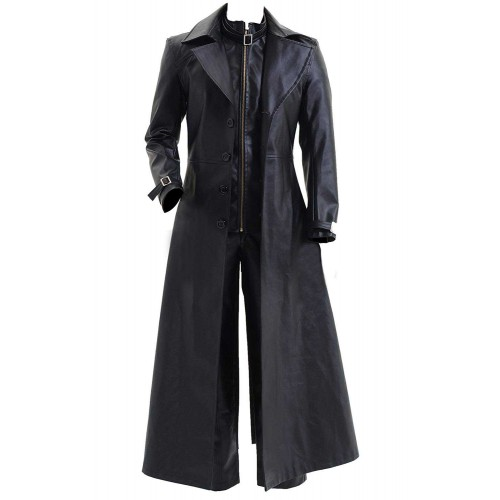 Resident Evil 5 Albert Wesker Black Coat