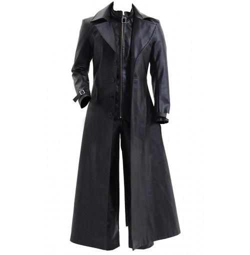 Resident Evil 5 Albert Wesker Black Coat