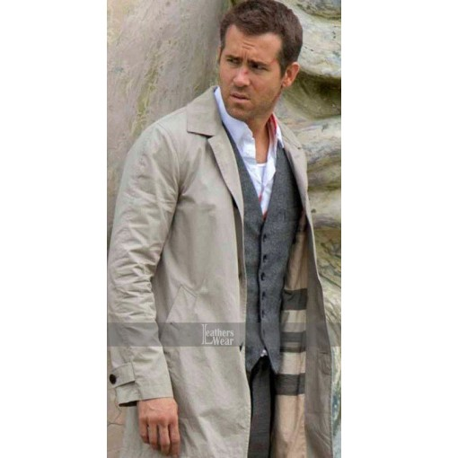 Selfless Ryan Reynolds (Damian) Trench Coat