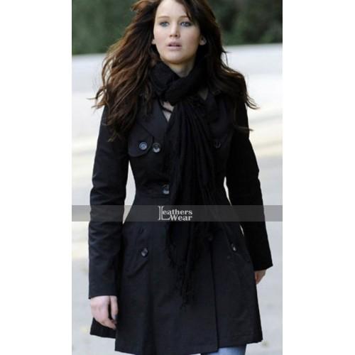 Silver Linings Playbook Jennifer Lawrence (Tiffany) Coat