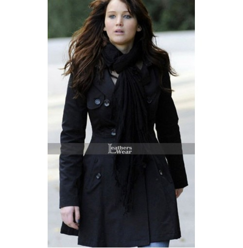 Silver Linings Playbook Jennifer Lawrence (Tiffany) Coat