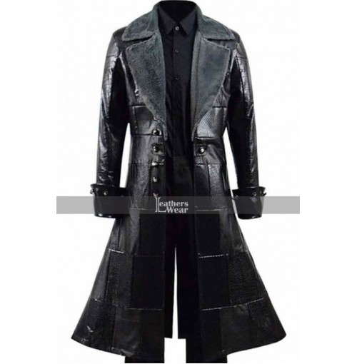 Kingdom Hearts III Sora Leather Trench Coat