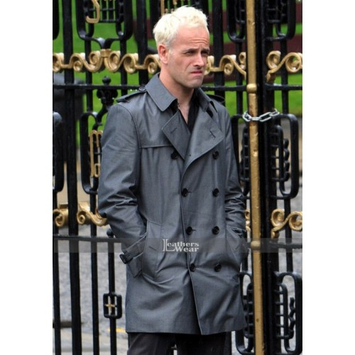 T2 Trainspotting Jonny Lee Miller (Sick Boy) Black Coat