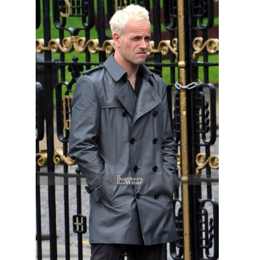 T2 Trainspotting Jonny Lee Miller Leather Coat
