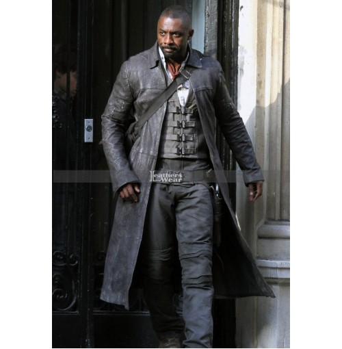The Dark Tower Idris Elba Roland Deschain Coat