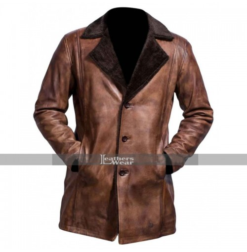 The Wolverine (2013) Hugh Jackman Trench Leather Coat