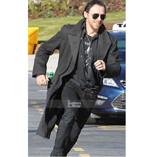 The World's End Simon Pegg (Gary King) Coat