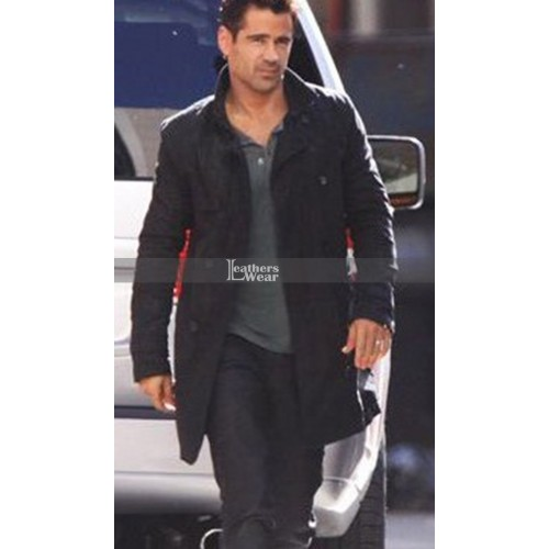 Total Recall Colin Farrell (Douglas Quaid) Leather Coat