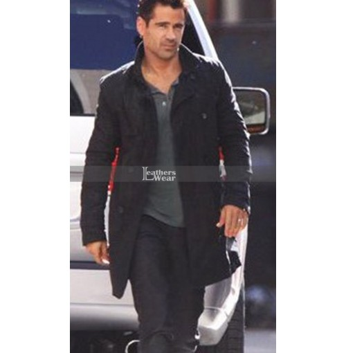 Total Recall Colin Farrell (Douglas Quaid) Leather Coat